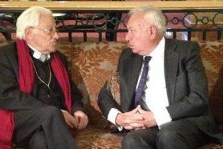 El padre Angel visita a los refugiados iraquíes que Mensajeros de La Paz acoge en Amman