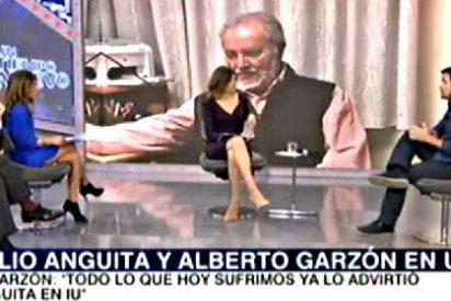 """Alberto Garzón: """"Podemos no dice su ideología, nosotros los de Izquierda Unida sí"""""""