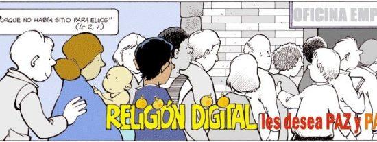 Religion Digital les desea feliz año 2016
