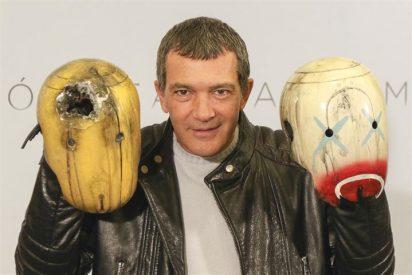 Antonio Banderas presenta sin Melanie 'Autómata'