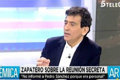"""Arcadi Espada contra Zapatero por reunirse con Iglesias a espaldas de Sánchez: """"Es el peor expresidente, un hombre desleal y frívolo"""""""