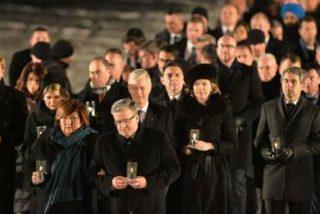 """""""Auschwitz es un grito de dolor que está pidiendo un futuro de respeto, de paz y de encuentro"""""""