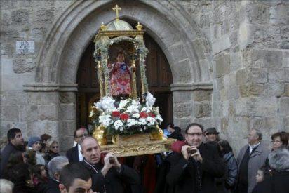 Saludan el 2015 en Palencia 'bailando' al Niño Jesús