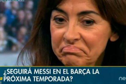 """Carme Barceló, sobre el posible adiós de Messi: """"Hay mucha grieta en ese vestuario y en el club"""""""