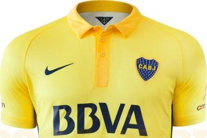 El Boca Juniors sorprende con su tercera nueva camiseta