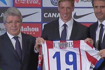 Así será la camiseta y el número que lucirá Torres en el Atlético