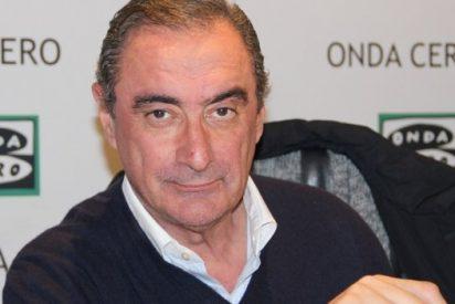 """Carlos Herrera sacude de lo lindo al """"majadero"""" de Errejón y al """"tarado"""" de Willy Toledo"""