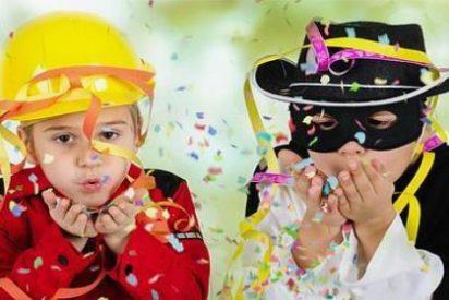 Los 5 consejos para que no te lleves un buen susto con los disfraces de Carnaval de tus hijos