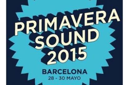 No te pierdas el cartel completo de todos los artistas que acudirán al próximo Festival Primavera Sound 2015