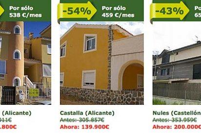 Un tercio de los españoles que compraron una casa en 2014 pagaron al contado