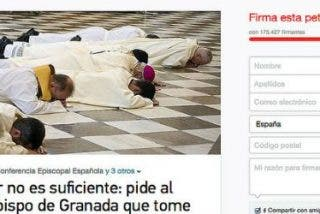 """Más de 175.000 personas reclaman que el Papa """"cese inmediatamente"""" al arzobispo de Granada"""