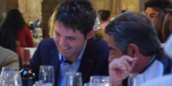 Cintora, el pregonero de Podemos, carne y uña con Revilla en Soria