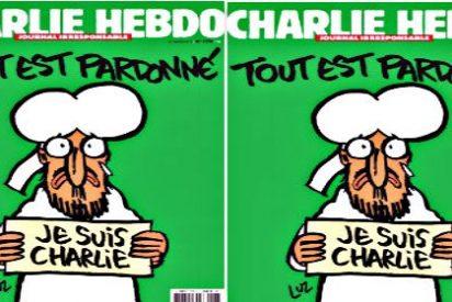"""Así es la nueva portada de 'Charlie Hebdo' tras la masacre: """"Todo perdonado"""""""