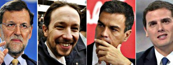El Partido Popular ganaría las elecciones con un 29% de los votos, 8 puntos más que Podemos y 10 más que el PSOE