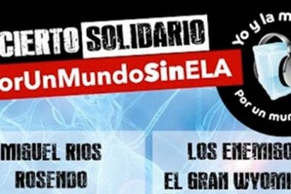 Reconocidos artistas cantarán en Madrid 'por un mundo sin ELA'