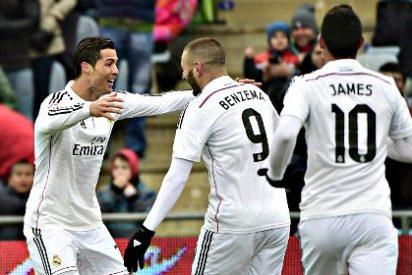 El Real Madrid queda Campeón de Invierno: Cristiano Ronaldo participó en el 59% de los goles