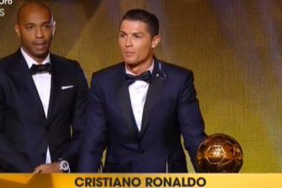 Cristiano Ronaldo gana el Balón de Oro 2014 y está tan solo a uno de igualar los cuatro de Leo Messi