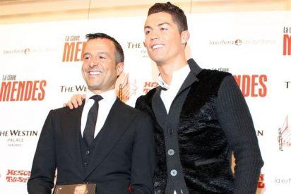 Jorge Mendes presenta su libro 'La clave Mendes' con el apoyo de Cristiano Ronaldo