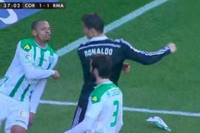 Bale salva a Cristiano y hace el 1-2 del Real Madrid al Córdoba, justo después de la roja a CR7