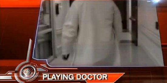 El descarado niñato que se hizo pasar por ginecólogo en un hospital durante un largo mes: ¡Soy el doctor Robinson!