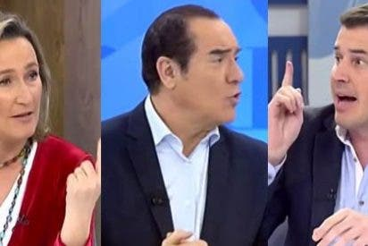 """Jiménez a Juan Segovia tras atacar a Isabel Durán: """"Si no pides disculpas no te vuelvo a invitar"""""""