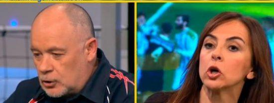 """Carme Barceló pinta la cara a Duro y Sainz: """"¿Tanto duele reconocer que lo de Cristiano fue un comportamiento antideportivo?"""""""