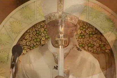 El Santo Niño y el Santo Padre Francisco