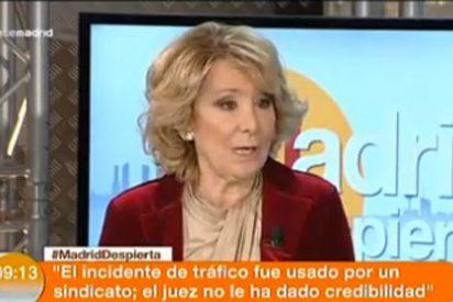 """Esperanza Aguirre: """"El PP no debe tener miedo ninguno a Bárcenas"""""""