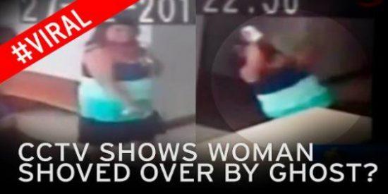 La grabación del fantasma que pone 'patas arriba' a una oronda en un hotel