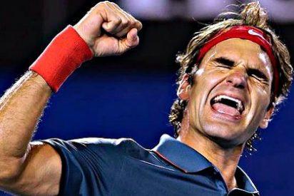 Roger Federer se hace milenario en Brisbane