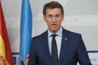 """El presidente de la Xunta, Núñez Feijóo, cree que el PP es la """"única alternativa"""" de """"gobierno y estabilidad"""""""
