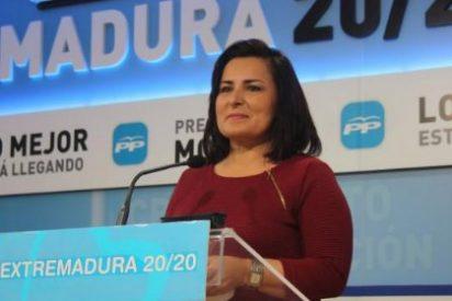 """Francisca Rosa, portavoz del PP: """"Monago ha incrementado un 110% el presupuesto destinado a becas universitarias"""""""