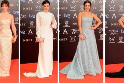 La mayoría de los actores y actrices no apuestan por la moda española en la ceremonia de los Goya