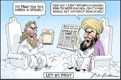 Un periódico australiano publica la primera viñeta de Mahoma después del atentado