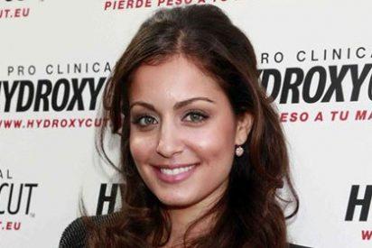Hiba Abouk como imagen de un producto para perder peso