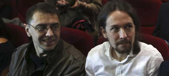 """Pablo Iglesias: """"Ojalá hubiera en España muchos empresarios como Juan Carlos Monedero"""""""