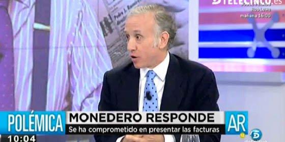 """Inda le da a Podemos donde más le duele: """"Monedero es el Bárcenas de Pablo Iglesias"""""""