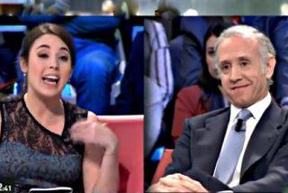 """Eduardo Inda sacude la badana a Irene Montero: """"Los de Podemos no me vais a callar la boca"""""""