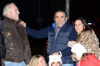 Jaime Martínez Bordiú y Patricia Olmedilla, dos ex muy juntos en la cabalgata de Reyes