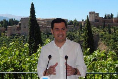 """Moreno lamenta que Díaz use """"la cortina de humo electoral"""" para tapar el paro y el colapso sanitario en Andalucía"""