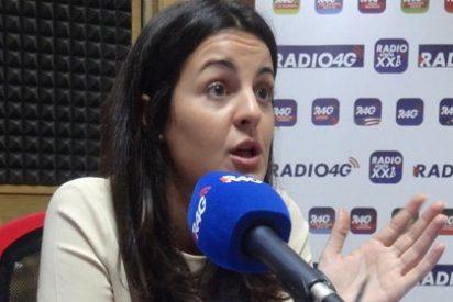"""Ketty Garat: """"No es que le queden pocas horas de vida política a Tania Sánchez, le quedan pocas horas de vida a IU"""""""