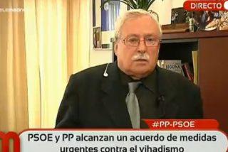 """Joaquín Leguina: """"Si Podemos queda segunda en las Generales, algunos tendremos que poner al día el pasaporte"""""""