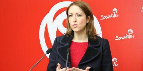 """Cristina Maestre (PSOE): """"Suena a chiste escuchar a Cospedal decir que en el PP tienen un compromiso incuestionable contra la corrupción"""""""