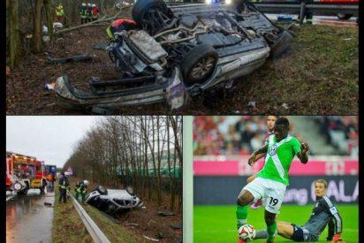 Así quedó el coche de Malanda tras su accidente mortal