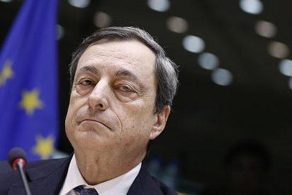 Draghi se pone la 'ortodoxia' de Merkel por montera y riega toda Europa con un billón de euros para impulsar la recuperación y el crédito