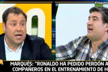 """Marqués saca el machete con las coñas de Antonio Ruiz: """"Tú vienes a vacilar, te exijo respeto por mis informaciones"""""""