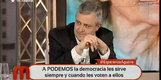 """Antonio Martín Beaumont: """"¿Dónde está el dinero que Monedero gasta en 'La Tuerka' cuando a un cámara se le pagan 25 euros?"""""""