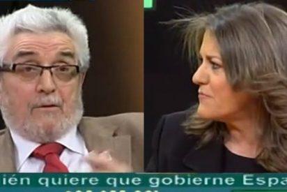 """Amando de Miguel retrata a María Antonia Trujillo: """"Lo estamos viendo, los socialistas se pasarán en masa a Podemos"""""""