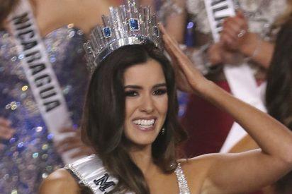 La colombiana Paulina Vega es coronada como nueva Miss Universo