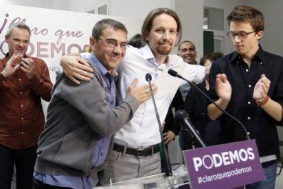 El vicepresidente del FN francés se rinde al encanto de Podemos